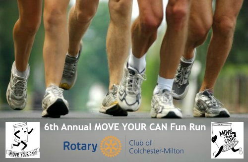 6th Annual Move Your Can Fun Run