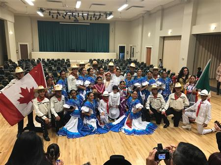 Ballet Folklorico Salute to Canada
