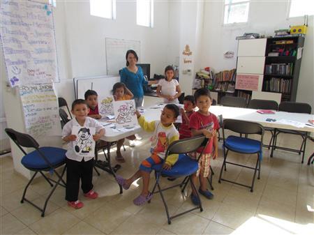 English Class at CHLA