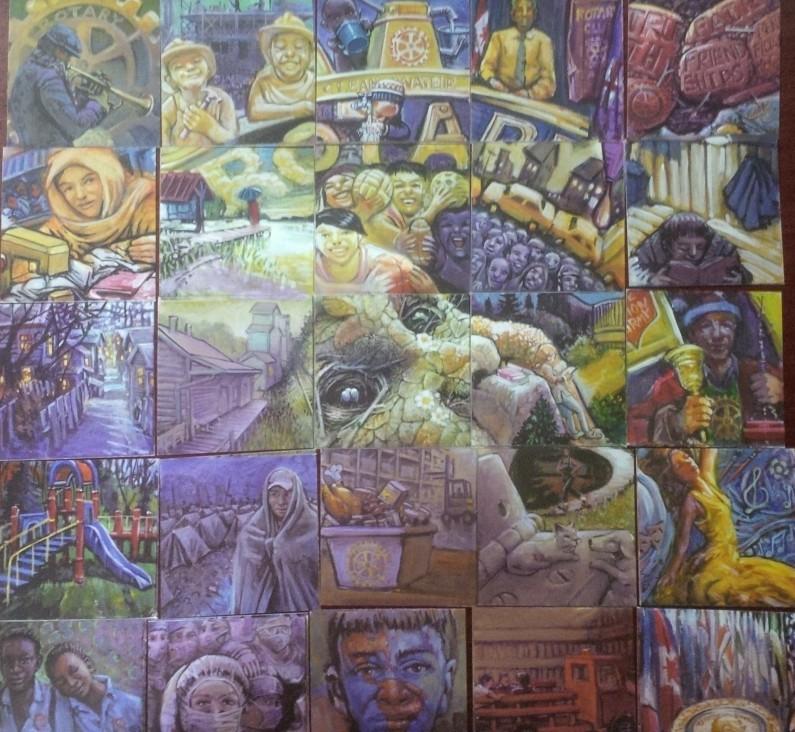 Louis Lavoie 25th Anniversary Mosaic