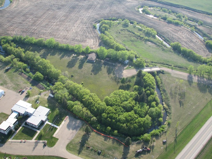 Overhead View of Peace Park | Rotary Club of Vegreville
