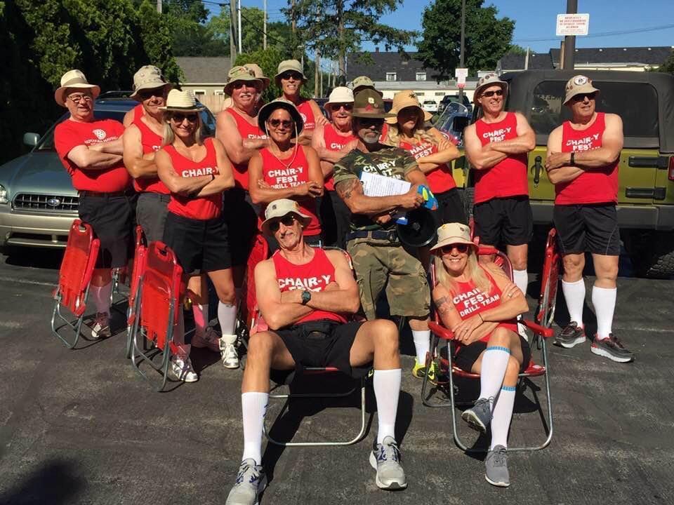 f617f486c03 2018 National Cherry Festival Lawn Chair Drill Team