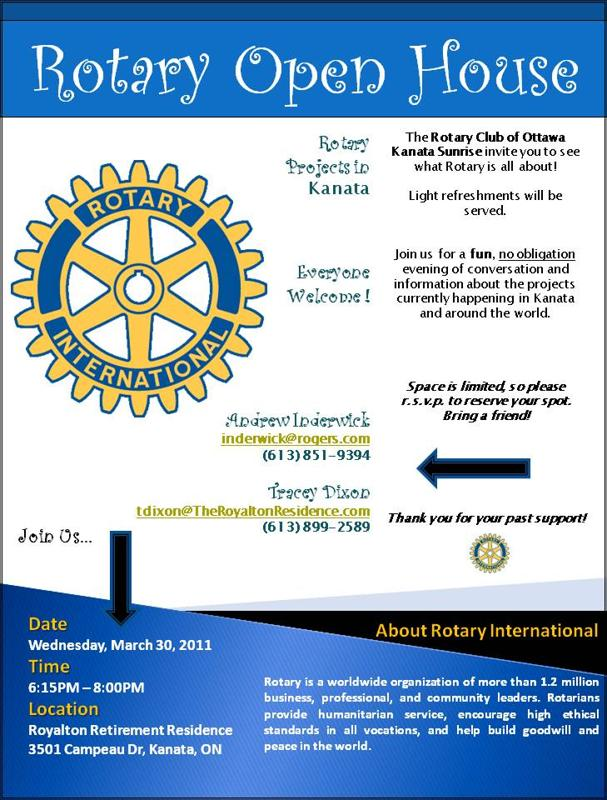 Rotary Open House 03-30-2011