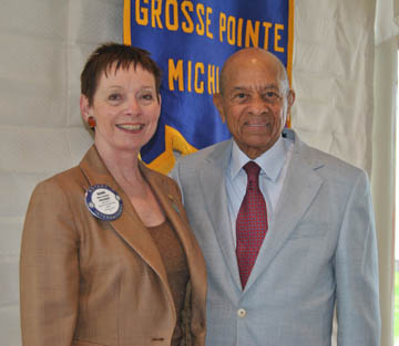 Tuskegee Airman At G P Rotary Rotary Club Of Grosse Pointe