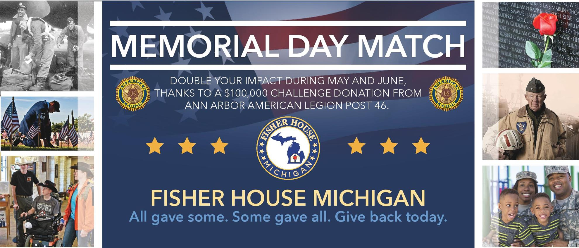 Memorial Day Match Card - Front
