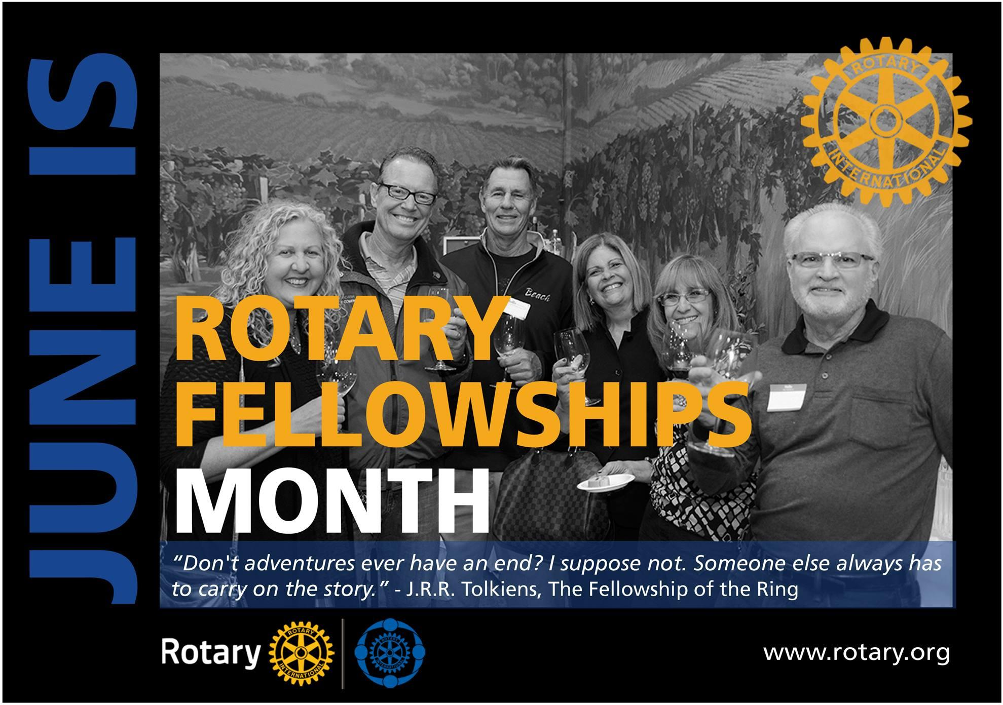 Rotary Fellowship Month