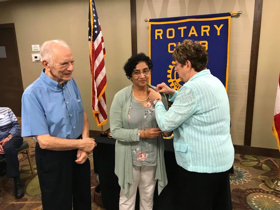 Step right up In Rotary's membership game, everyone's a winner