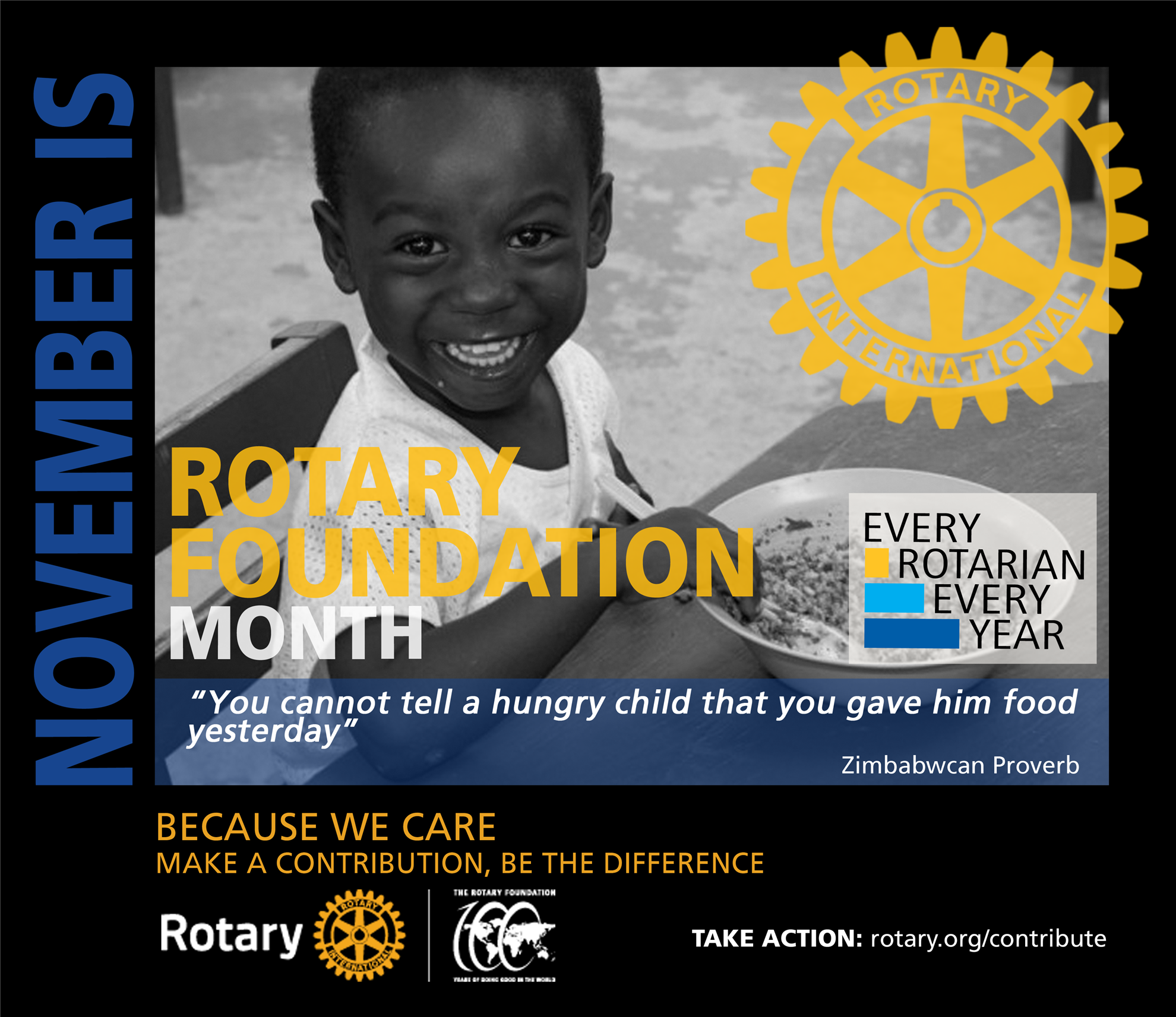 November Rotary Foundation Month