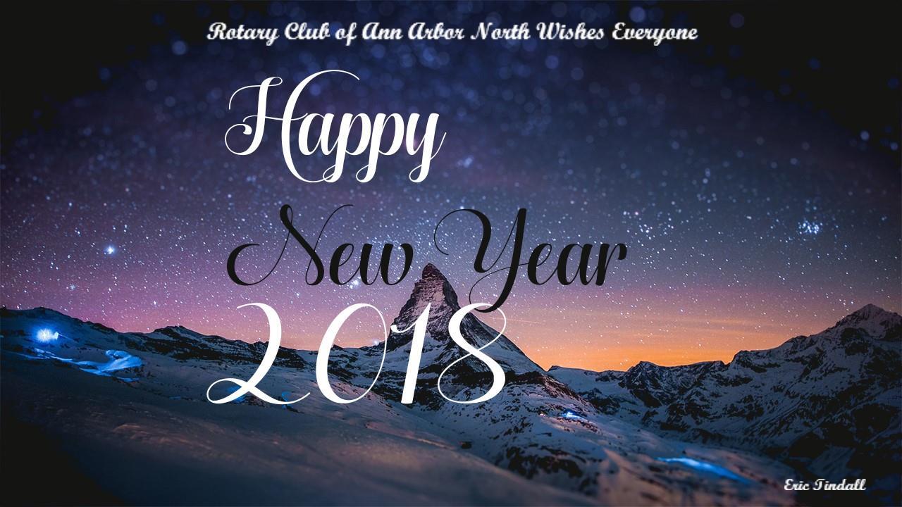 Happy New Year Rotary Club Of Ann Arbor North