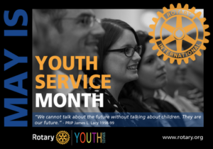 May is Youth Service Month