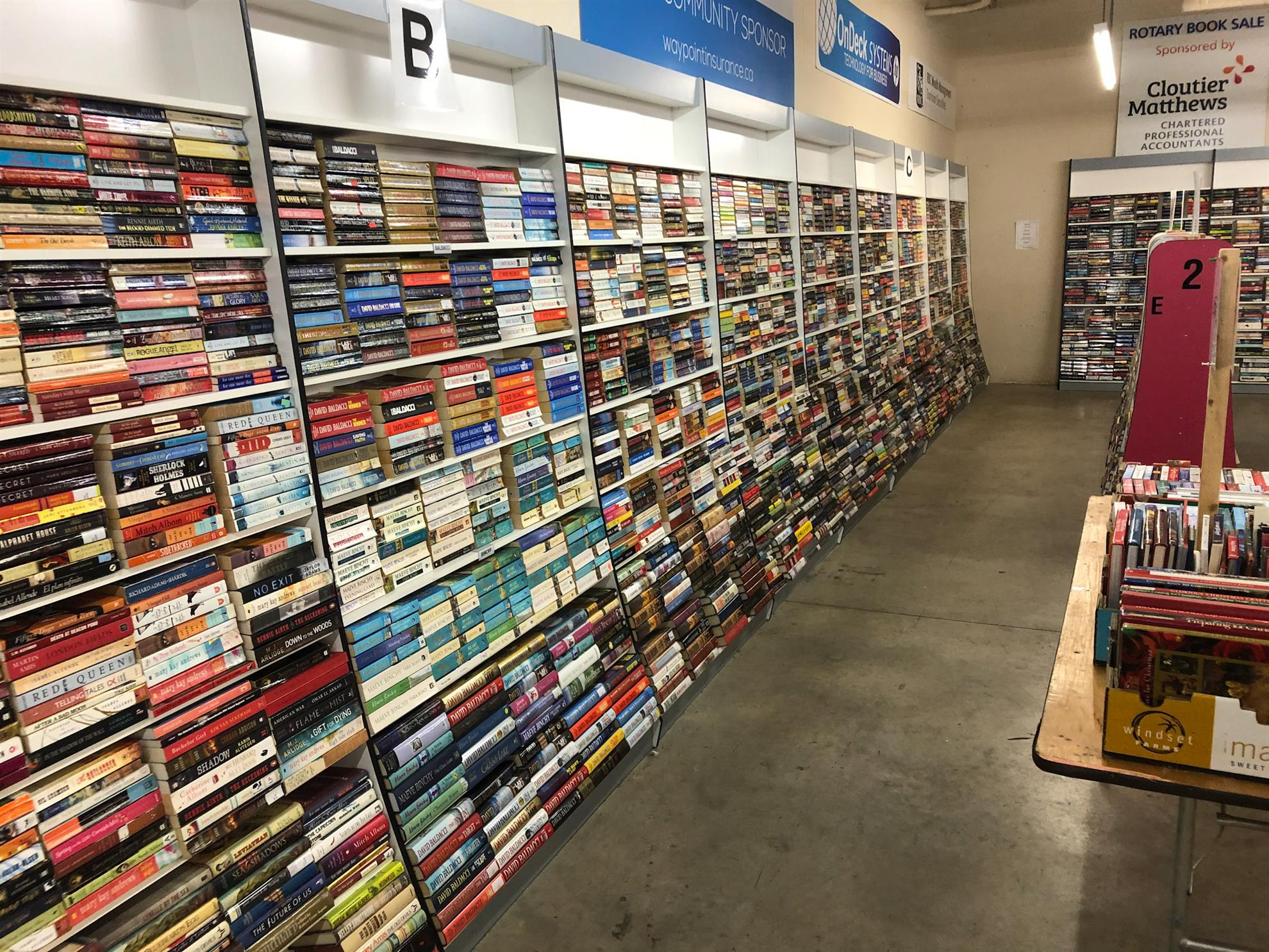 Rotary Club of Courtney Book Sale 2019