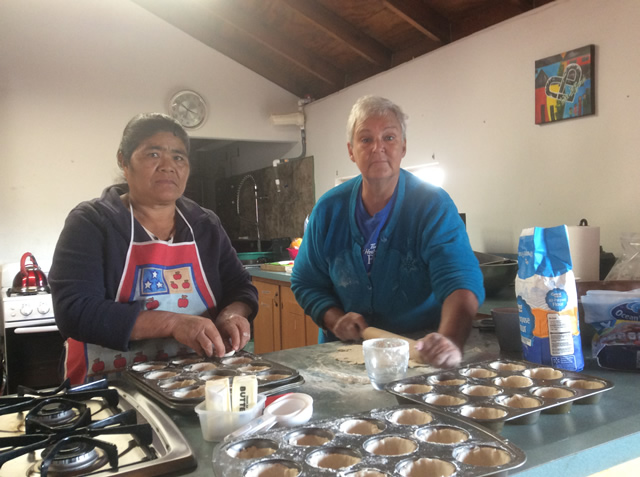 Joyce shares her delicious butter tart recipe with Theresa