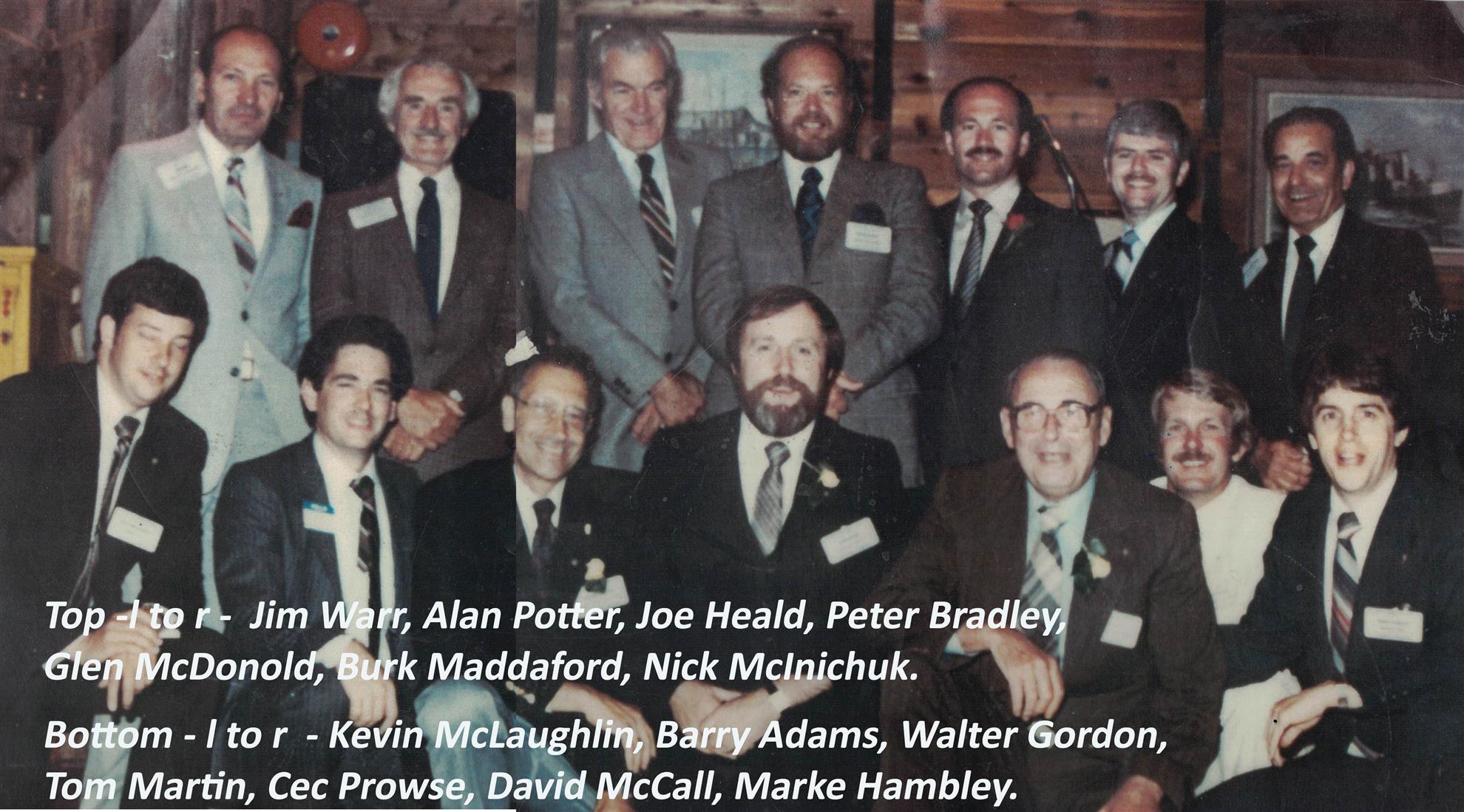 1982, some key members.