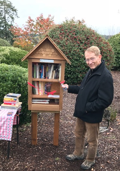Home page rotary club of gig harbor for Mini library at home