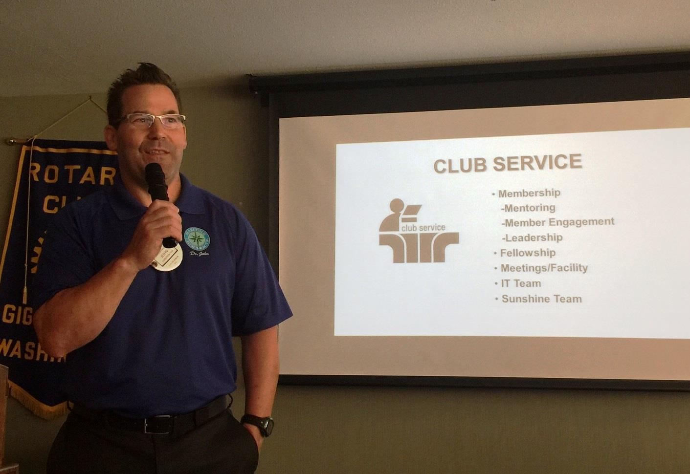 President Mel's First meeting july 7, 2017 | Rotary Club of Gig Harbor
