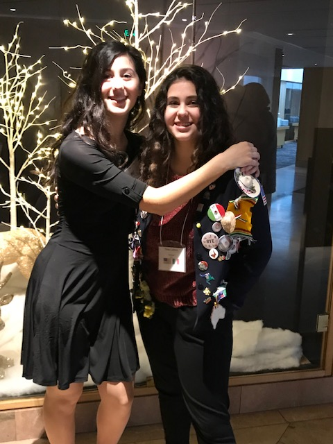 fa3e0b808e49 This is Anina and Eliza Liebner. Anina spent 2017-18 in Italy and now her  sister Eliza is headed for Spain. We have two students out this next year,  ...
