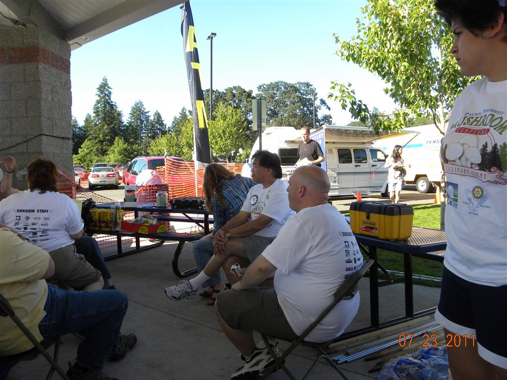 07-23-2011  Saturday at the 4th Mushroom Festival at the RAC