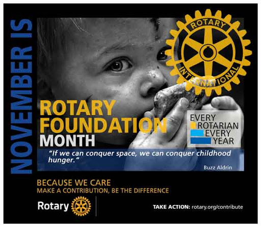 ROTARY MONTH: Rotary Foundation