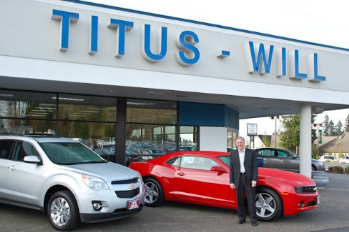 His Titles Today Are President Of Titus Will Enterprises, The Holding  Company That Owns The Dealership Locations, And President Of The Titus Will  Olympia ...