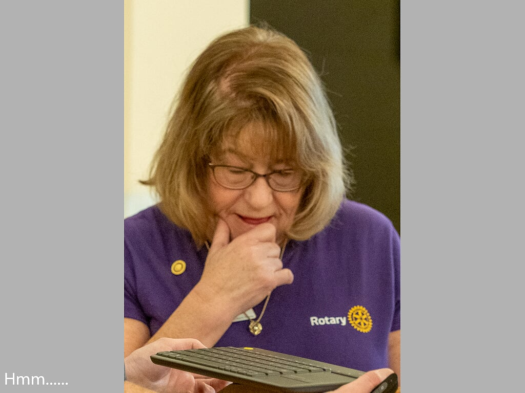 Club President Kathy Rayment
