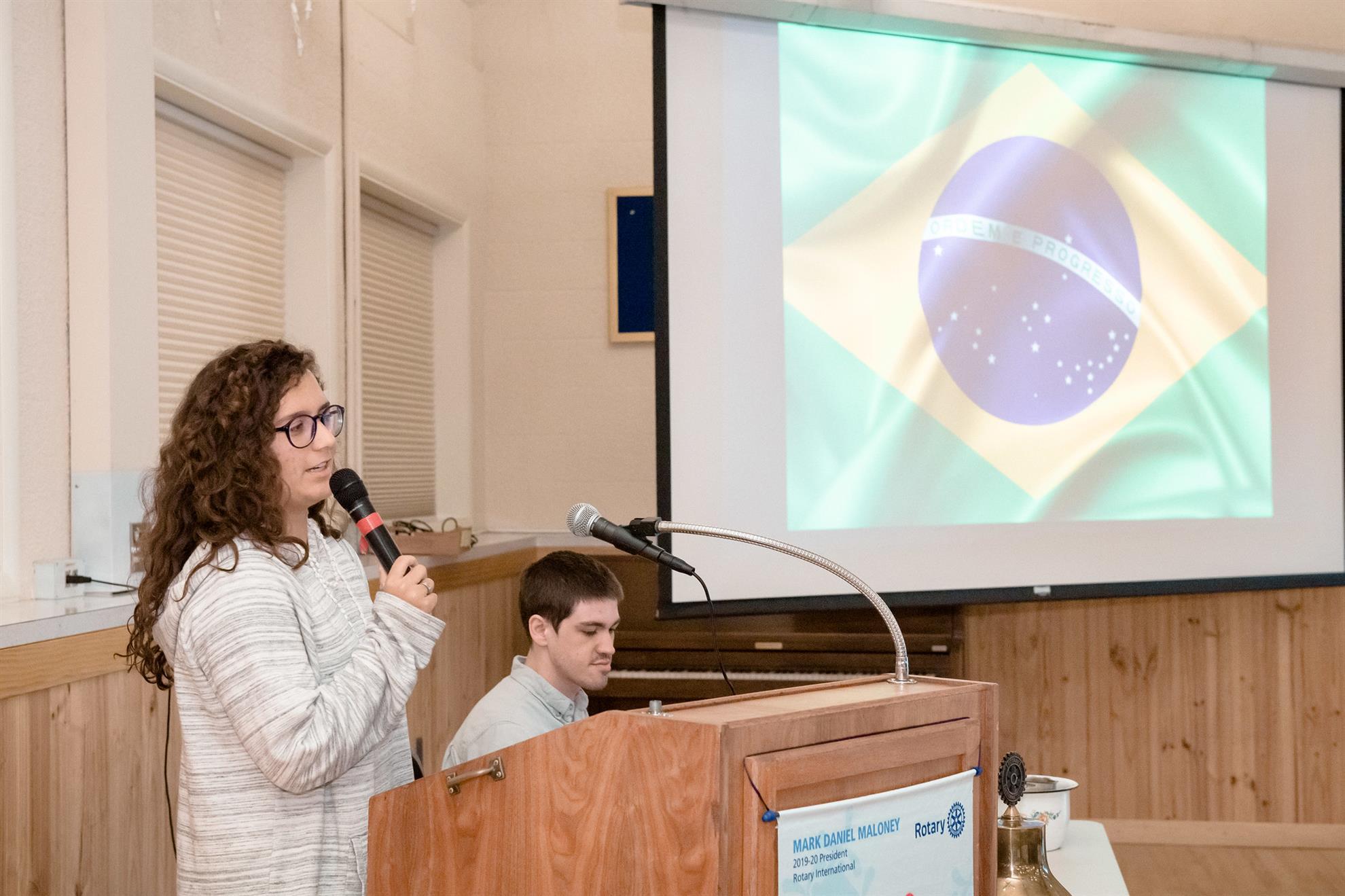 Duda talks about Brazil