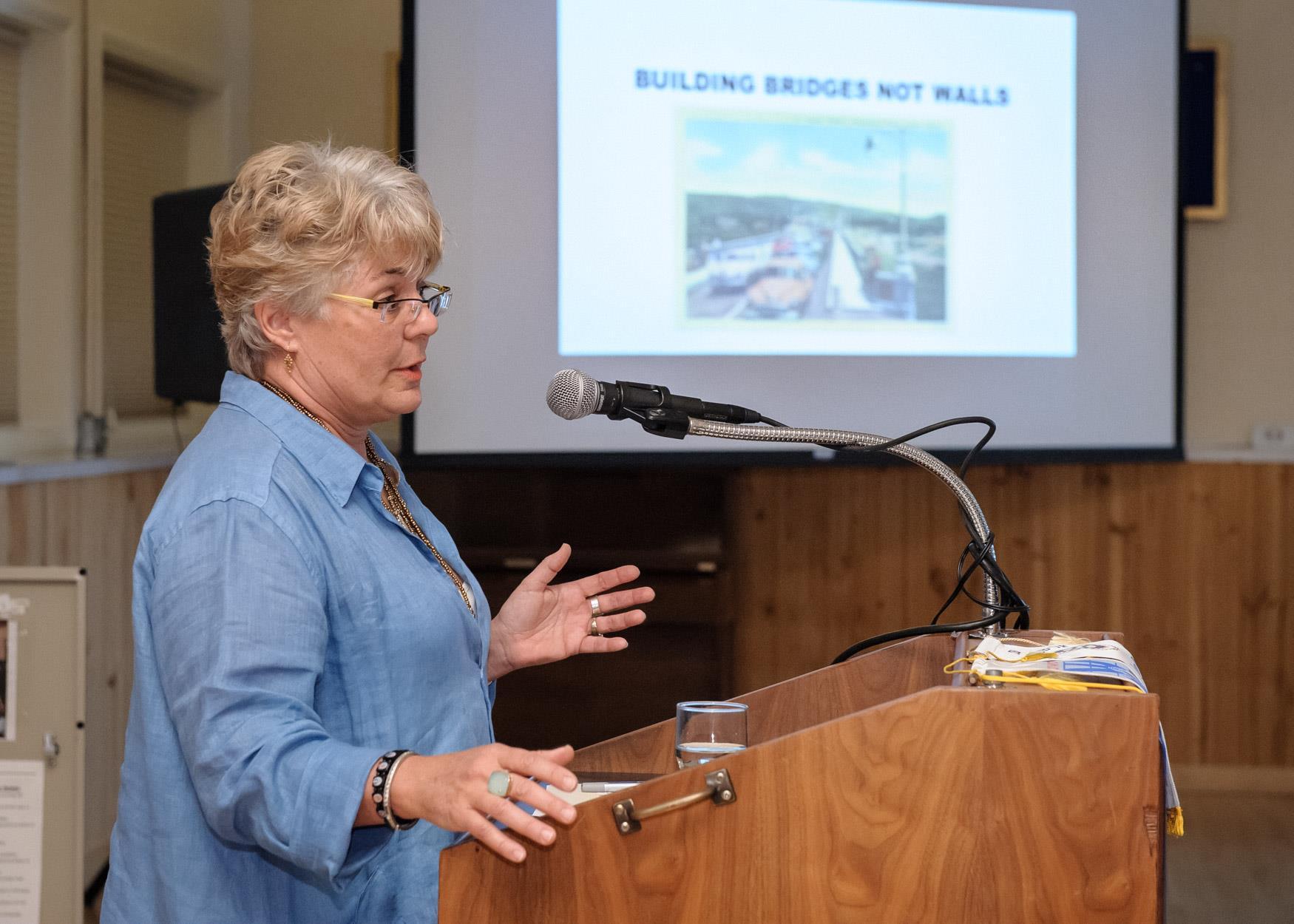 Lisa Martin - Build Bridges, Not Walls