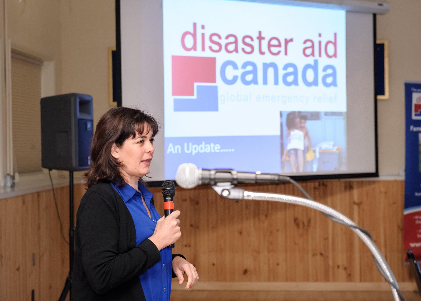 Concetta Anne McIntyre, Executive Director, Disaster Aid Canada