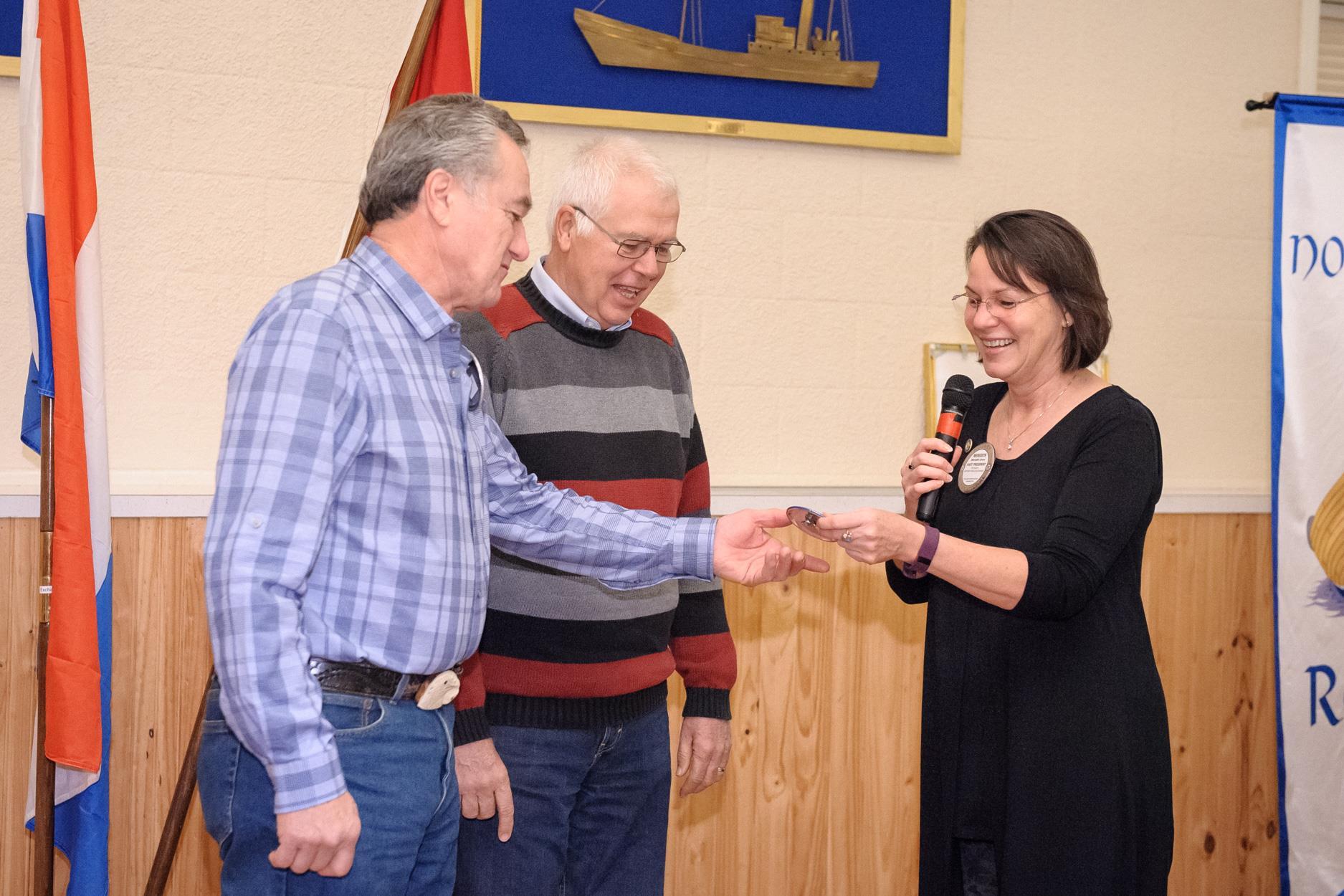 Randy Linaman rejoins Poulsbo Rotary