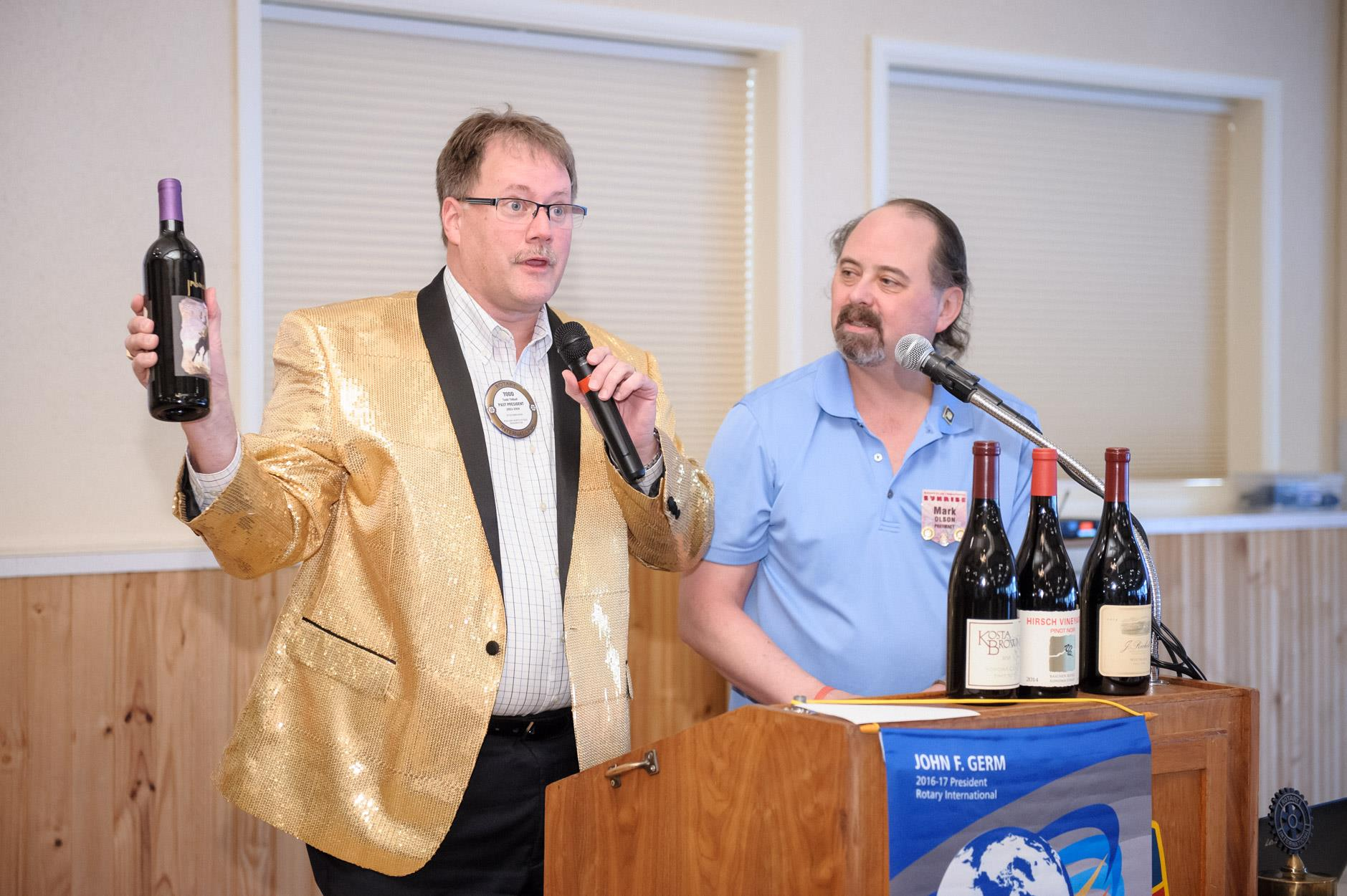 Wine auction raises more than $1,000