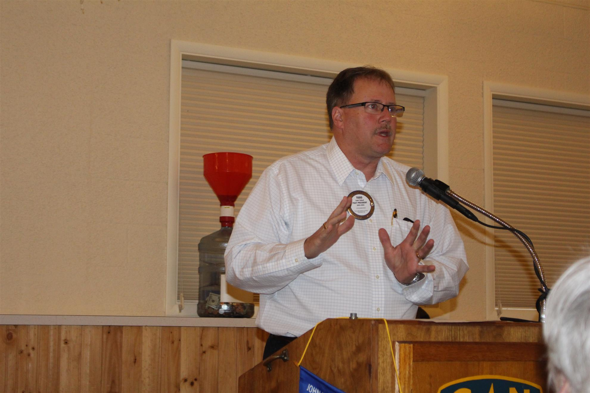 Fundraising for Poulsbo Rotary: A Discussion let by Todd Tidball