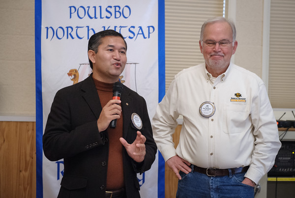 Poulsbo Rotary honors Jim Sund