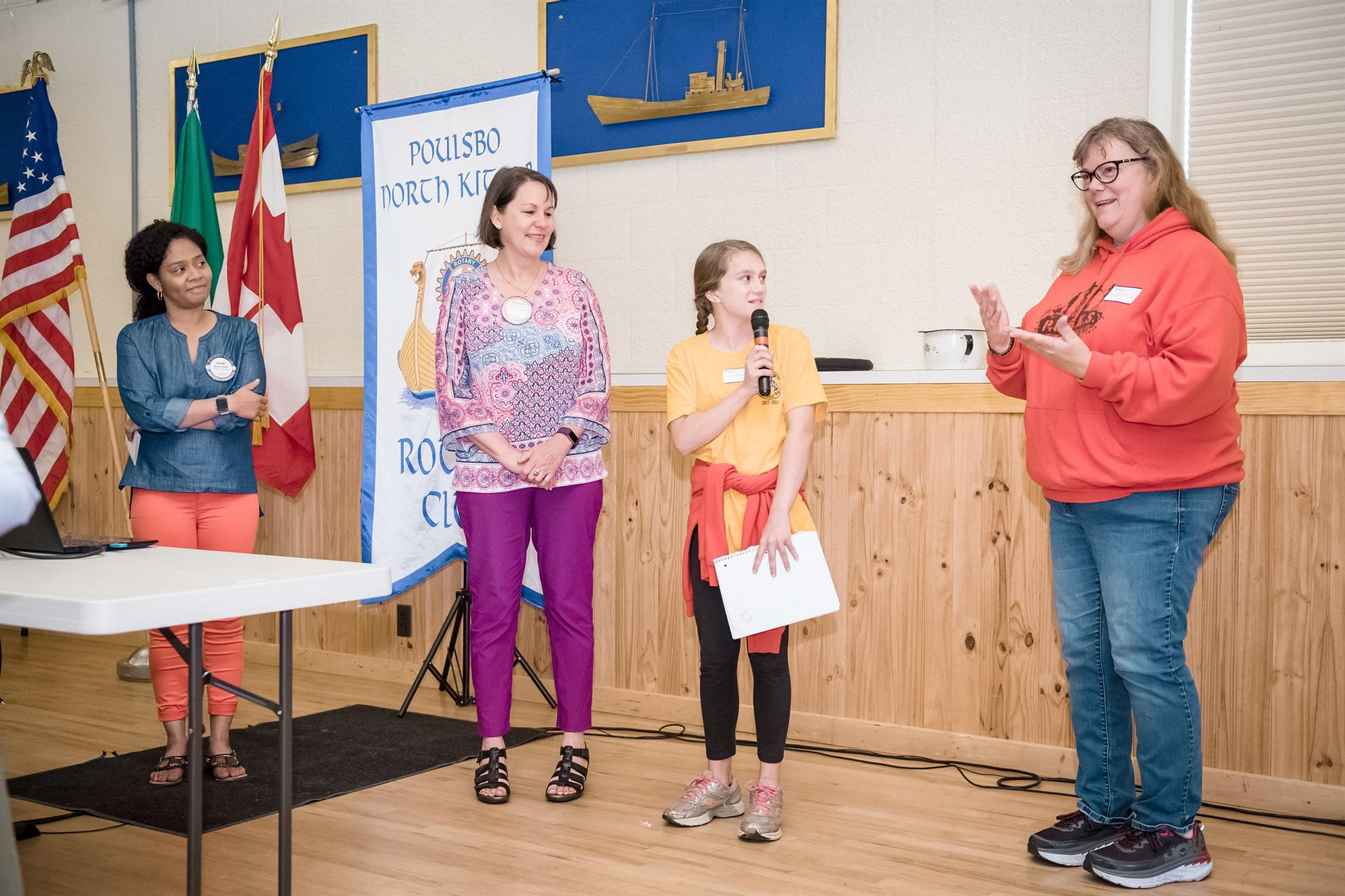 Stories Rotary Club Of Poulsbo North Kitsap Old Circuit Board United Kingdom Flag Tshirt Check Presentations
