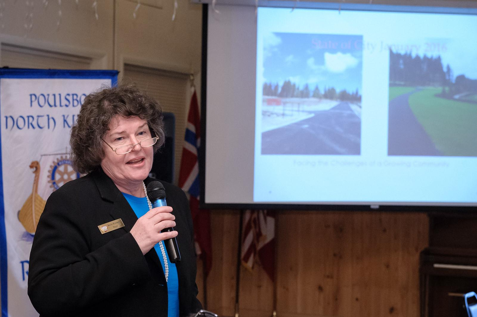 Mayor Erickson presents State of the City of Poulsbo