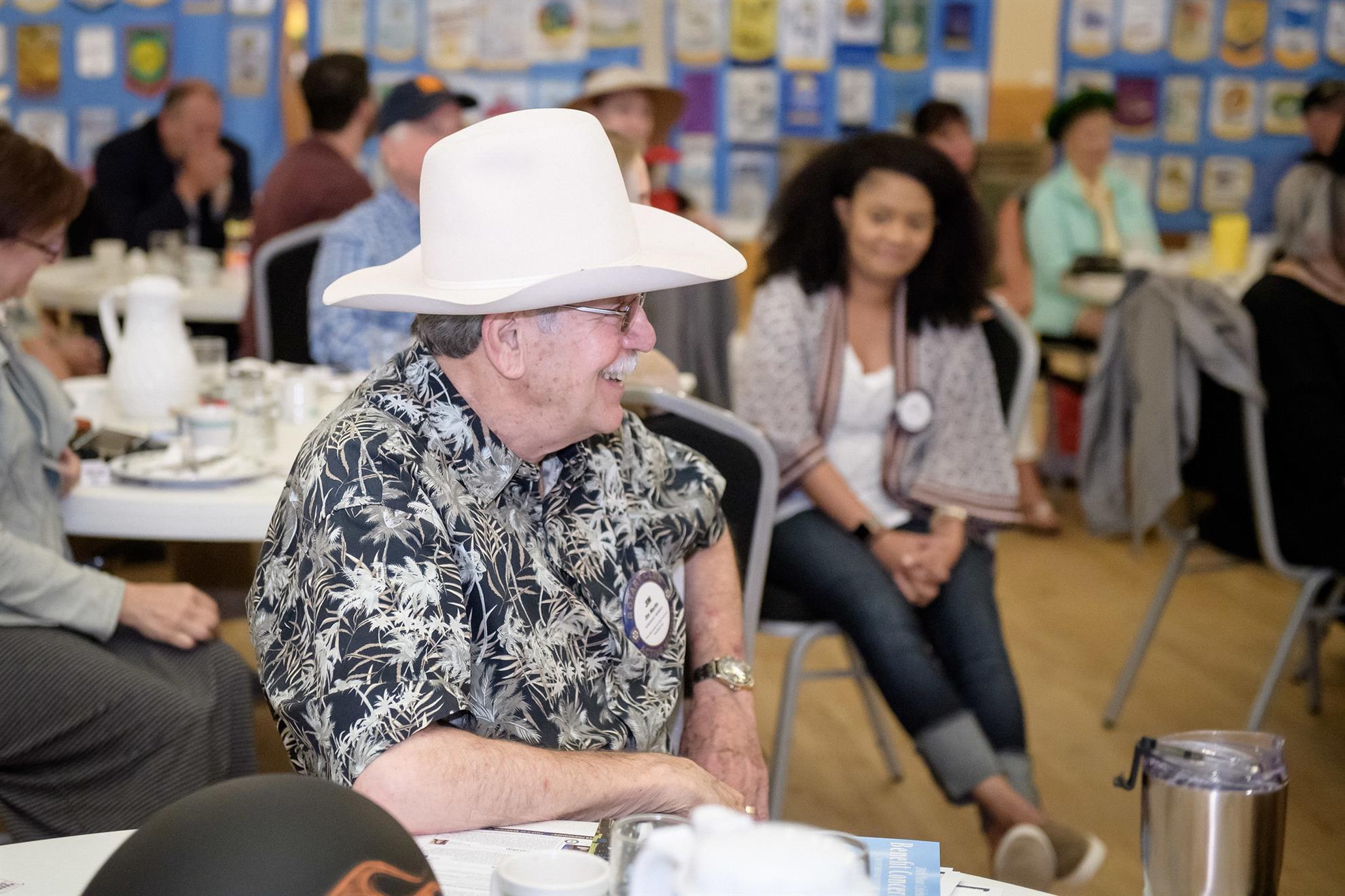 Jim Martin honored at Rotary