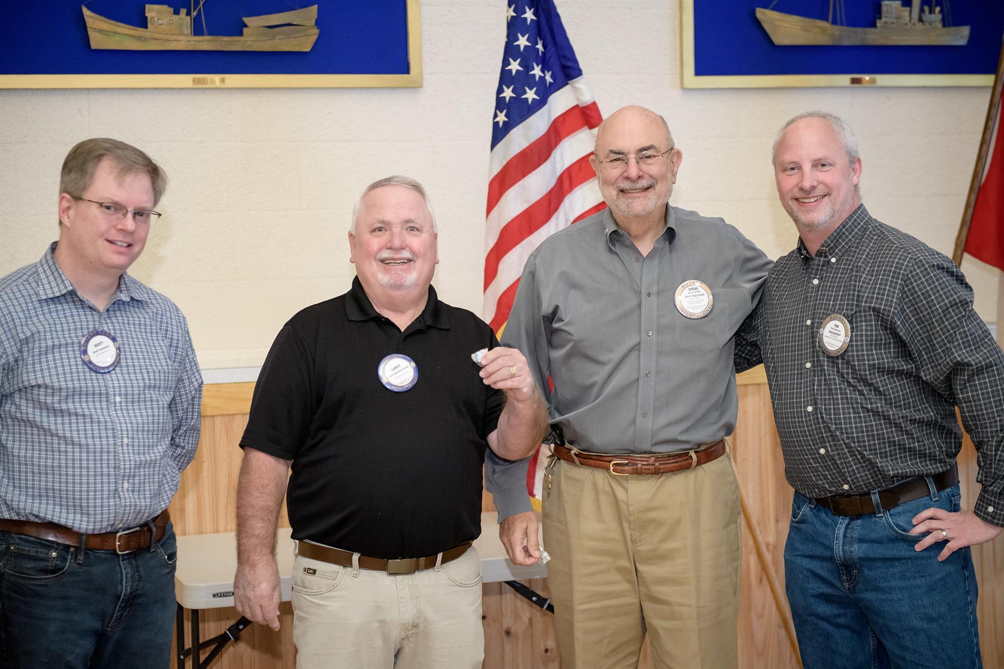 Scott Sorensen, Larry Bartholomew, and Steve Garfein