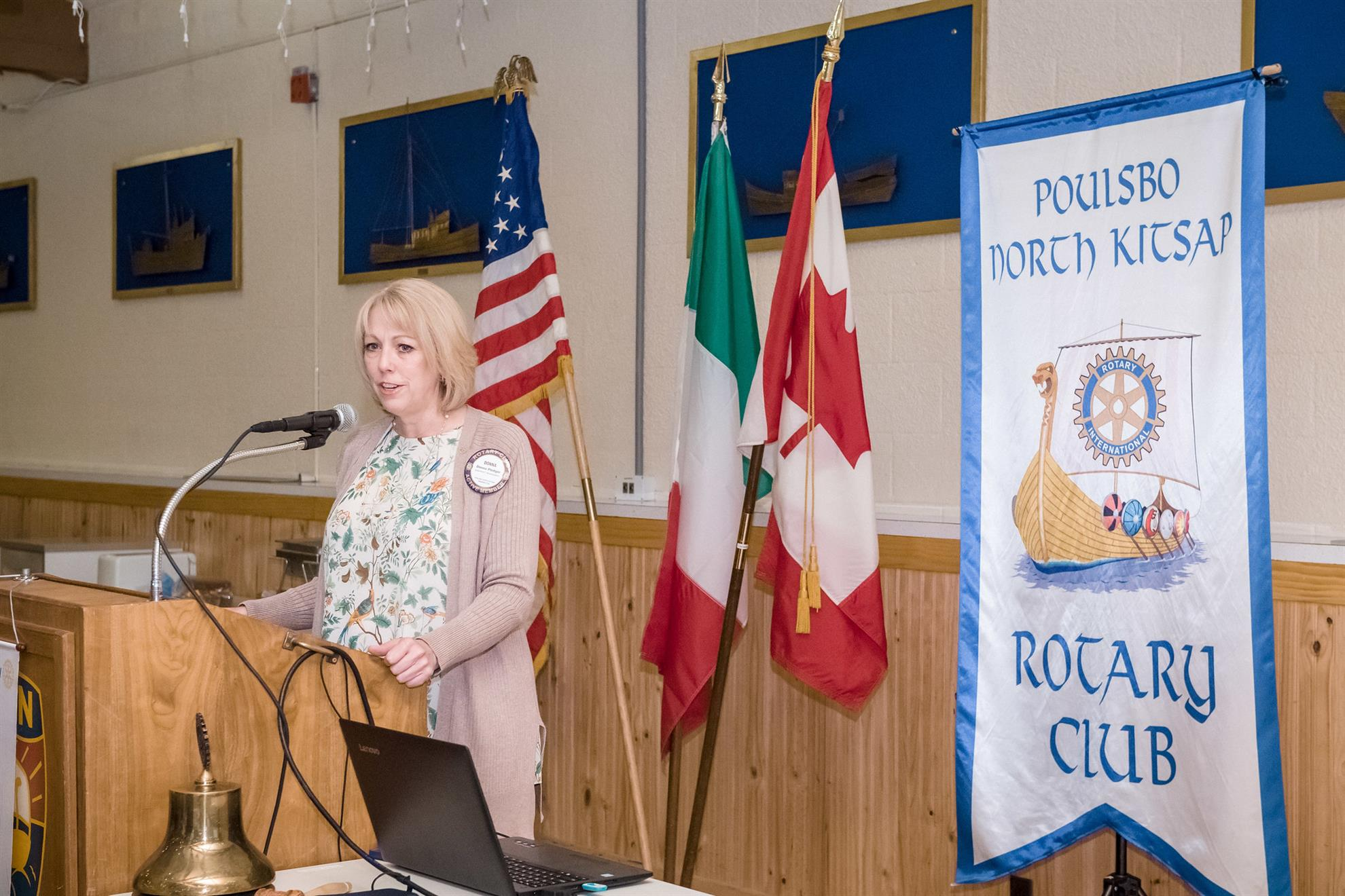 Funds Development: Donna Pledger