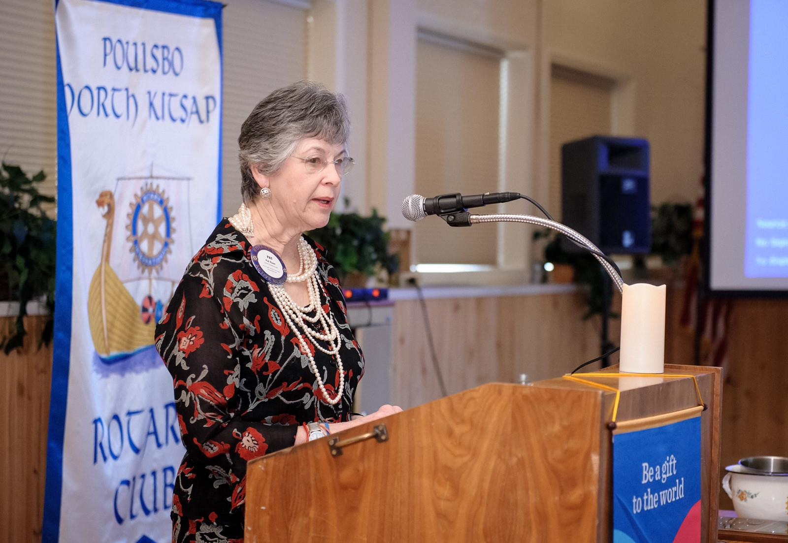 Poulsbo Rotary honors Russell Ferguson