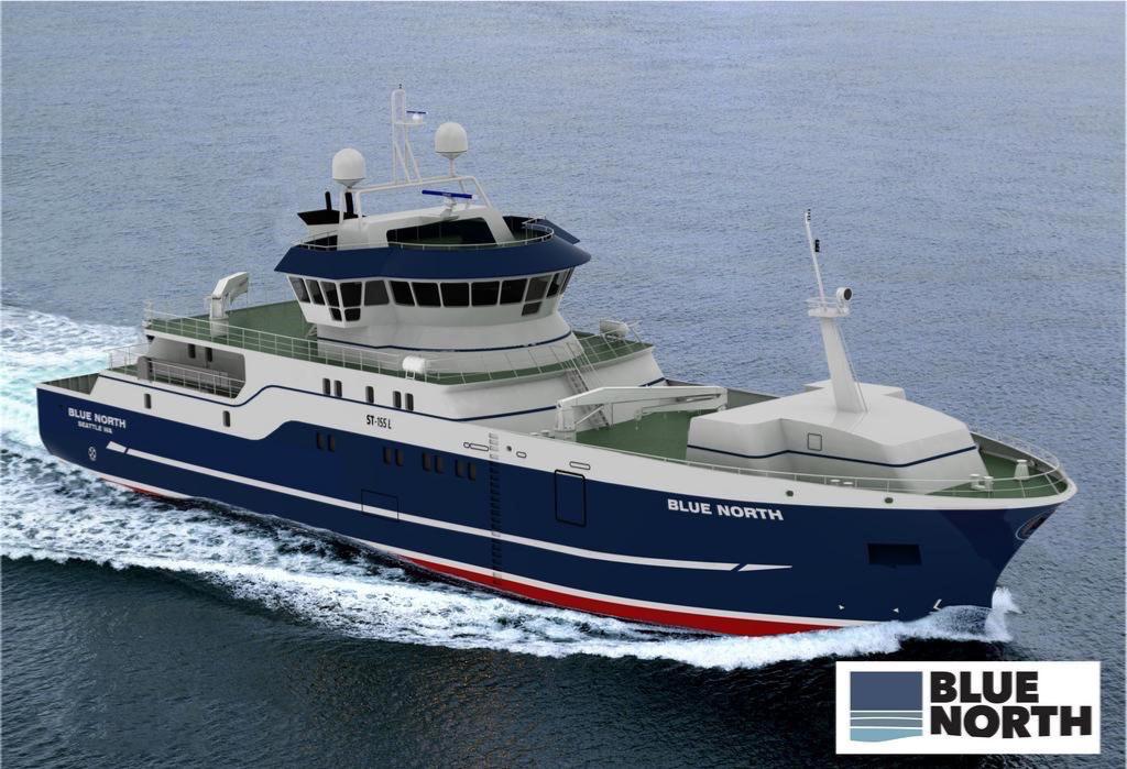 Modern fishing vessel