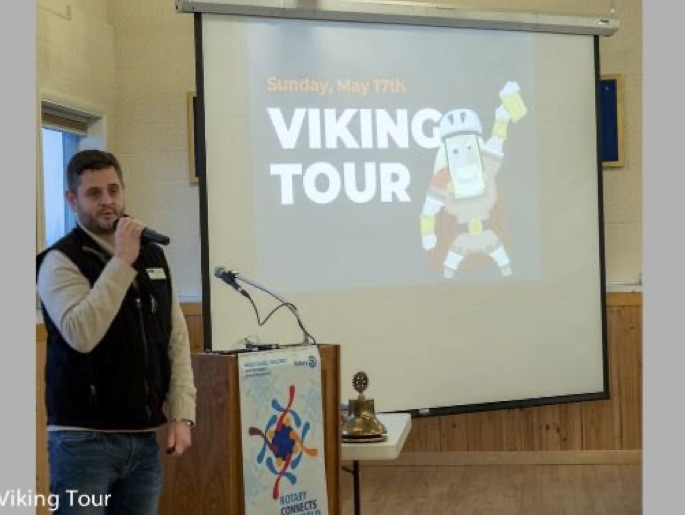 Nick Johnson Viking Tour