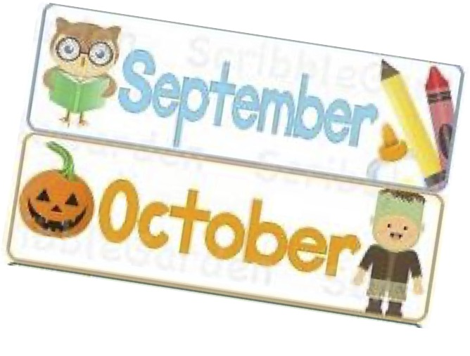 September and October
