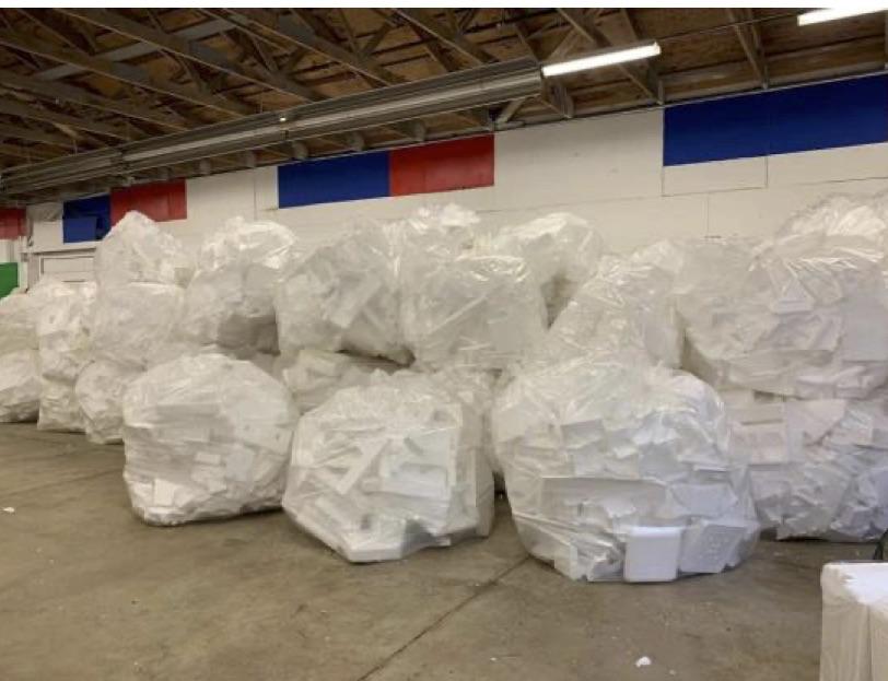Styrofoam round up