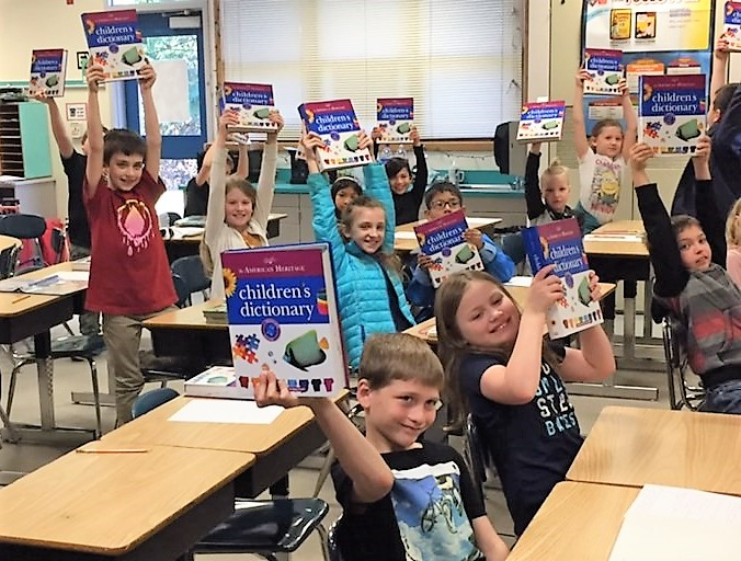 5632d302e0fdc ... hard cover dictionaries to every 3rd grader in all 12 elementary  schools in the CKSD. That s over 9
