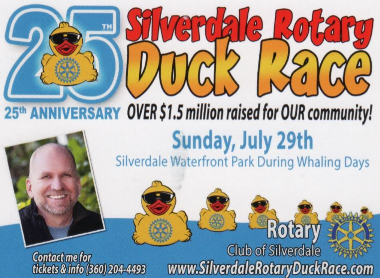 Thank You Steven Boe For New Duck Race Materials And Ideas Rotary