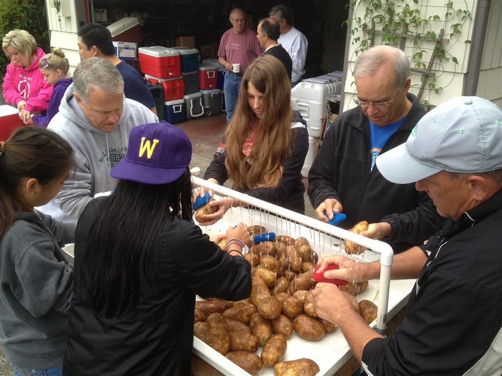 Potato Wash
