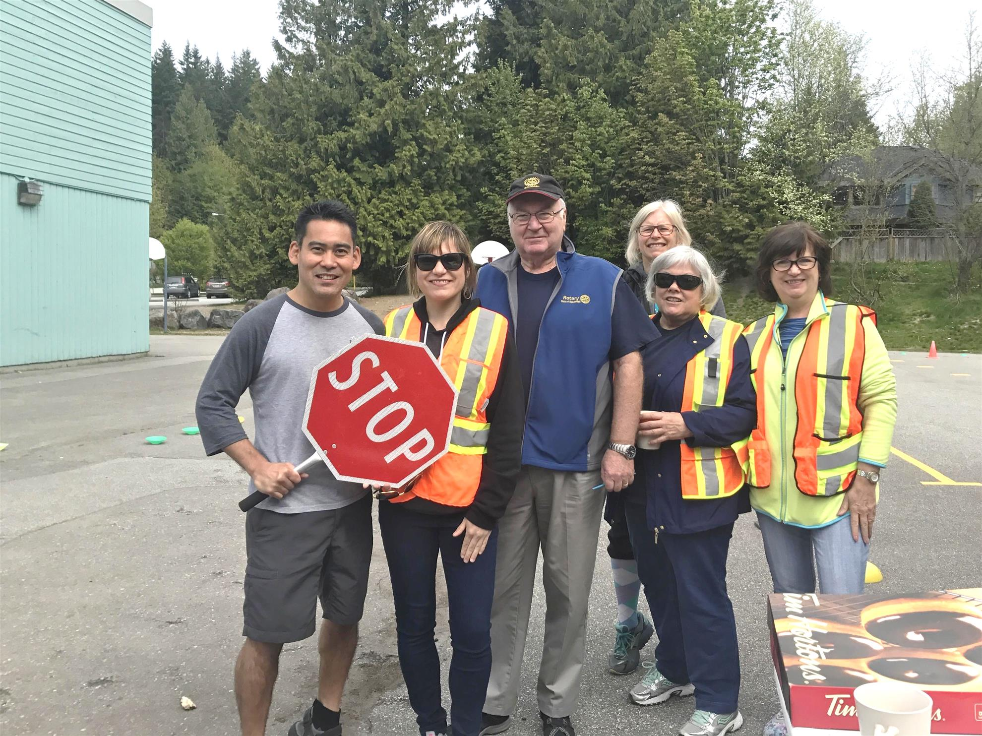 Stories Rotary Club Of Squamish Rodeo Bundling 1 Navy M On May 9 10 2017 Rotarians With Help From School Staff Held The Annual Bike Safety At 5 Elementary Schools