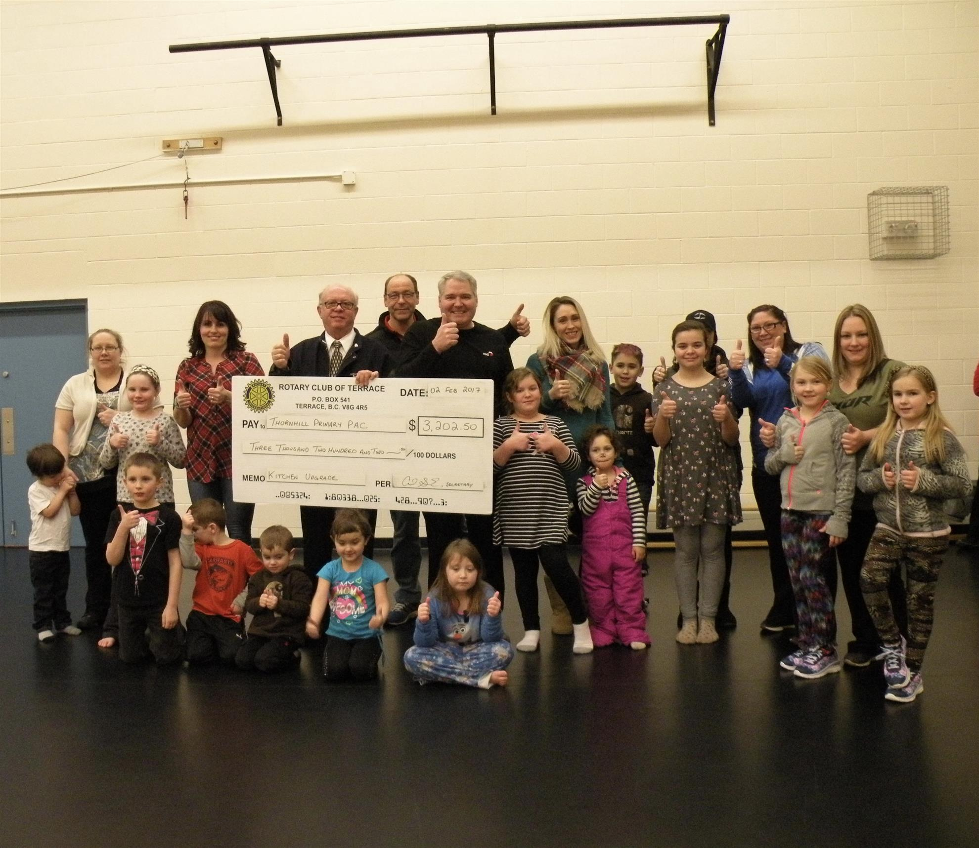 list of professional skills%0A The Rotary Club of Terrace is pleased to support the Thornhill Primary  Parent Advisory Committee  We donated           towards the much needed  upgrades and