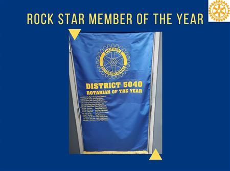 Rotarian of the Year 2020 - Jack Zaleski