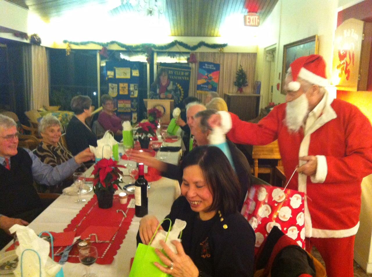 Christmas Party 2015 Rotary Club Of West Vancouver
