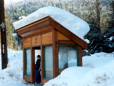 Bus Shelter Alpine
