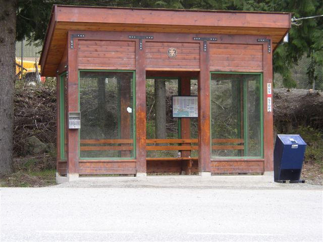 Bus Shelter - Hwy 99 & Highways  Yard